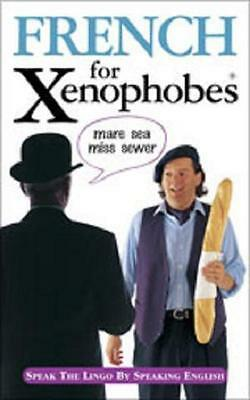 NEW French for Xenophobes Book + FREE Paris Guide Book IMPORTED from FRANCE