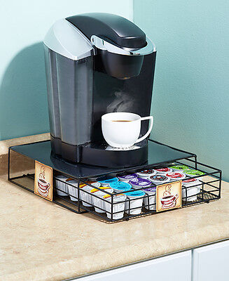 Vintage Nostalgic Coffee Pod Drawer Cup Latte Java Mocha Coffee Machine Holder