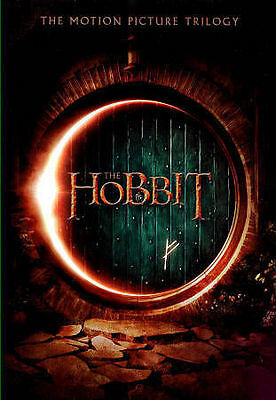 The Hobbit: Parts 1-3 Theatrical Triology (DVD, 2015, 3-Disc Set+Digital)New!!!