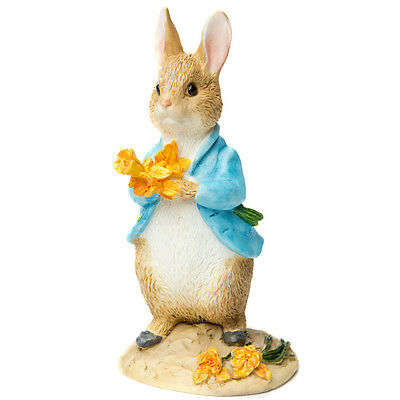 NEW Beatrix Potter Peter Rabbit with Daffodils