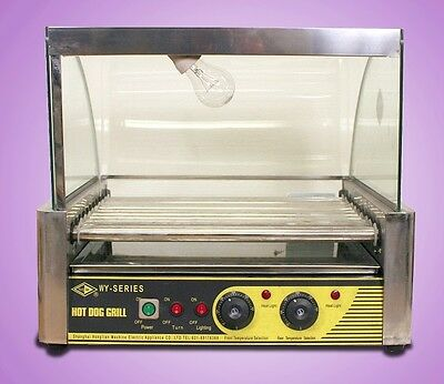 New MTN Gearsmith 10 Roller Commercial Hot Dog Grill Sausage Hotdog Machine Oven