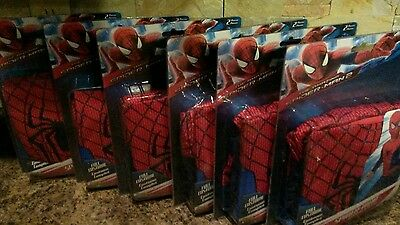 Spider man birthday party 6 complete costumes size 8 _10 jumpsuit + Mask   19.99