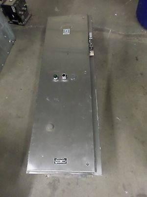 Used Square D Size 4 Stainless combination starter 8538 SFW 13 8536SF01  4X