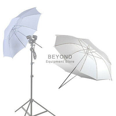 """43"""" White Reflector Photography Studio Umbrella for Continuous Lighting Kit"""