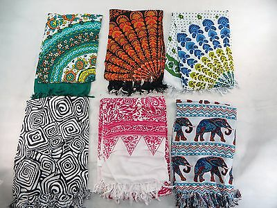 *US SELLER*lot of 5 Indonesia handmade boho sarong women accessory clothing
