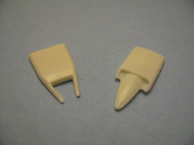 HO Scale Slot Car VIPER and STINGER Street Rod Style hood Scoops