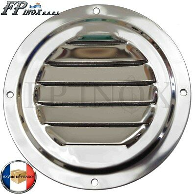 Grille Ronde 102 mm inox 316