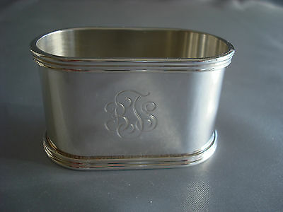 TIFFANY sterling silver ~ ART DECO NAPKIN RING ~ EXCELLENT!