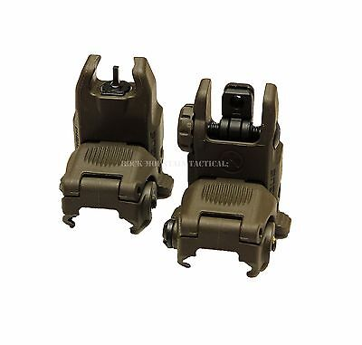 Magpul Industries MBUS Front & Rear Sight Set Gen 2 ODG OD Green MAG247 MAG248