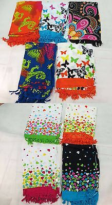 *US SELLER*Lot of 10 hearts and butterfly sarong headwrap swimsuit...