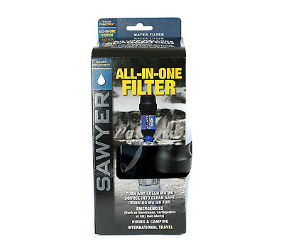 "Original Sawyer ""All in One"" PointONE Wasserfilter für Camping & Outdoor"