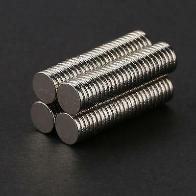 100PCS 5mm x 1mm N35 Rare Earth Neodymium Super Strong Mini Round Magnets T53