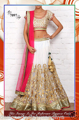 Lehenga Traditional Wedding Designer Indian Latest Bollywood Bridal Embroidered