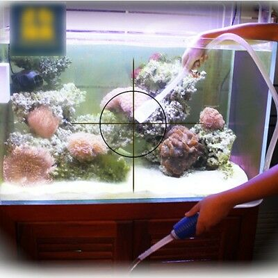 Aquarium Cleaning Vacuum Water Change Gravel Sand Cleaner Fish Tank Siphon Pump