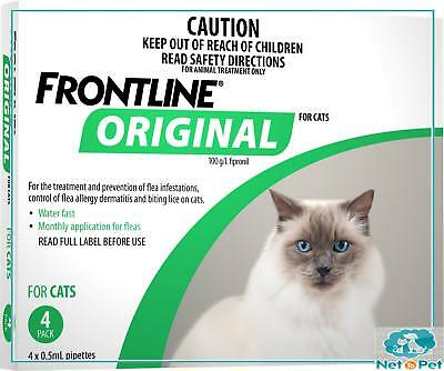 Frontline Original for Cats 4 Pack