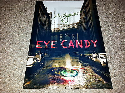"Eye Candy Pp Cast X2 Signed 12""x8"" A4 Photo Poster Victoria Justice"