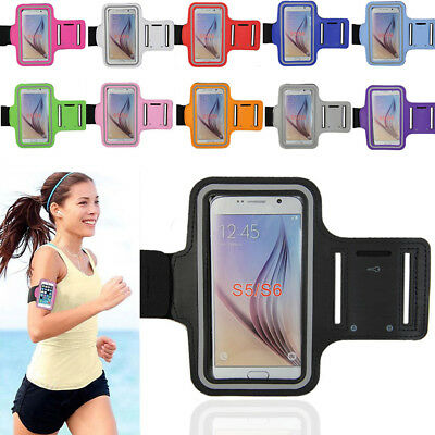 Sports Gym Running Jogging Arm Band Cover Case Holder Fr Samsung Galaxy S6 S5 S7