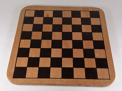 Chess Checkers Replacement Wooden Board (Board Only)