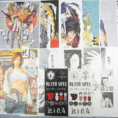 TAKESHI OBATA Art Illustration Sheet & Sticker Blanc et Noir Japan Book Ltd RARE