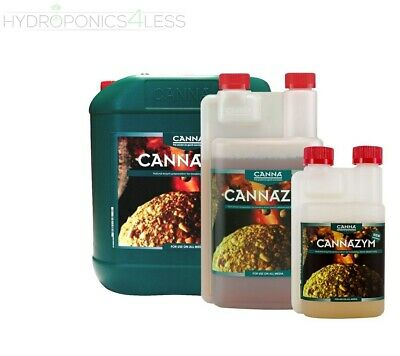 Canna Cannazym Natural Enzyme Hydroponics Grow Tent Root Health 250ml, 1 & 5L