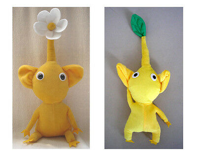 "12"" Handmade PIKMIN Yellow Plush Doll Collection 2 dolls Thanksgiving Christmas"