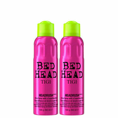 Tigi Bed Head Headrush Spray 200ml 2 PEZZI lucidante finissimo x styling leggero