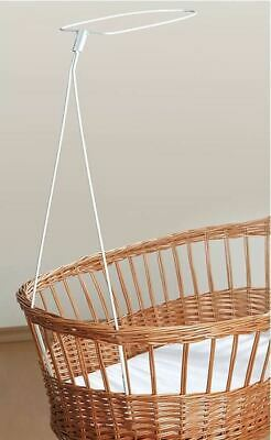 Moses Basket Drape / Canopy Holder / Rod Fits Most Baskets Frames