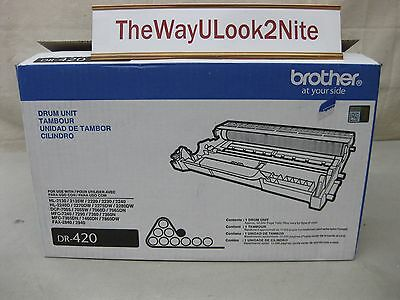 Brother Fax Drum Unit DR-420 New Genuine Open Box / Open Bag DR420