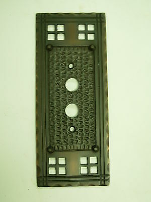 Single Push Button Mission Switch Plate