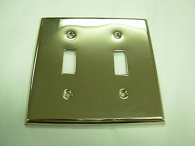 Nickel Double Toggle Plate