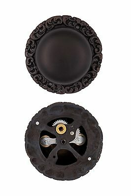 Decorative Round Base Mechanical Turn Doorbell