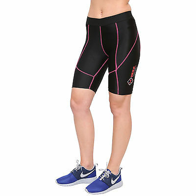 Ladies Compression Running Shorts Base Layer Skin Tight