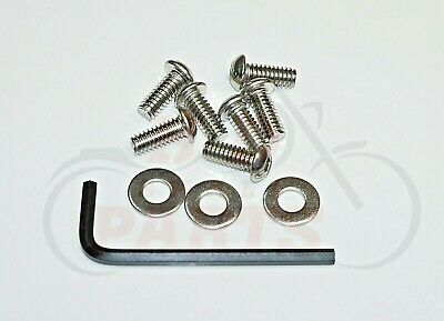 H-D 7-Stainless Steel Batwing Fairing/Windshield Hex Bolt Trim Kit 1996-2013