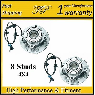 Front Wheel Hub Bearing Assembly for Chevrolet Suburban 2500 (4WD) 2001-06 PAIR