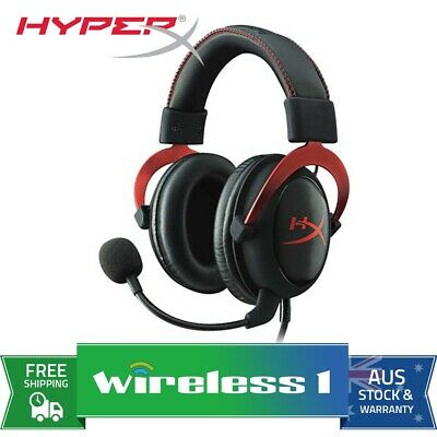 Kingston HyperX Cloud II Gaming Headset Red