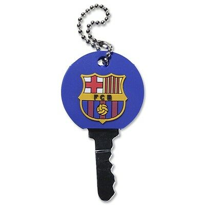 FC Barcelona Rubber Key Cover / Cap with Raised Badge
