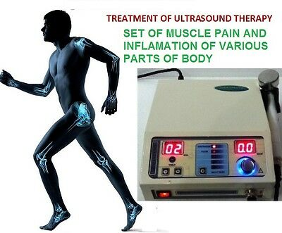Portable Ultrasound Therapy Machine 1Mhz Pain Relief Ultrasound Therapy CHK 114