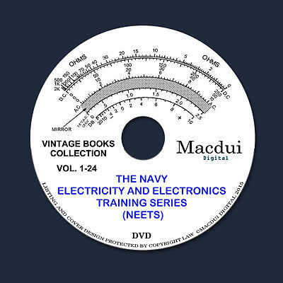 NEETS – Navy Electricity and Electronics Training Course 24 Volume PDF 1 DVD