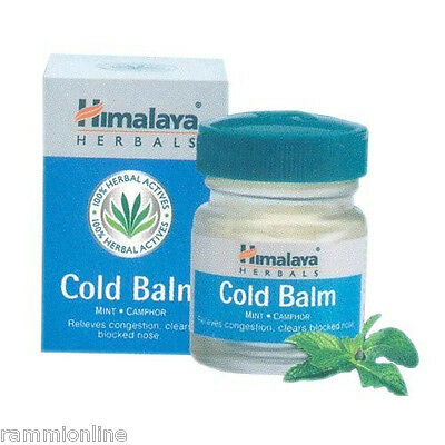 Himalaya Herbal Ayurvedic & Natural Cold Balm, Relieves Nasal & Chest Congestion