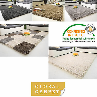 Super Thick 5Cm Non Shed High Pile Shaggy Rug Funny Xxl Small Extra Large Soft