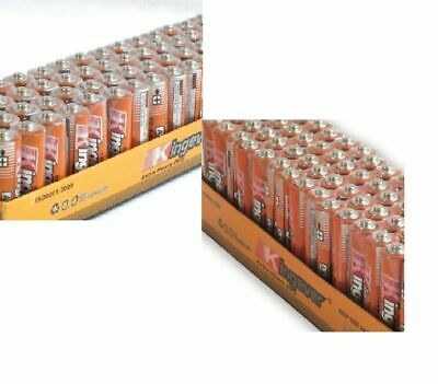 200 Pack 100 AA and 100 AAA Batteries Extra Heavy Duty 1.5v Wholesale Lot New