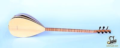 Turkish  Long Neck Mahogany And Maple Baglama Saz For Sale Csl-113