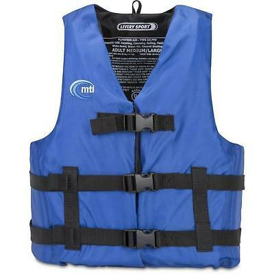 "Mti Bleu Ecurie Sport Life Safety Vest X-Small/Small - Mildiou Resistant/30 ""-36"