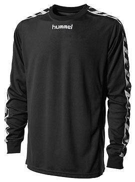 Hummel Long Sleeve Jersey Mens 2042 Black/White Size Large