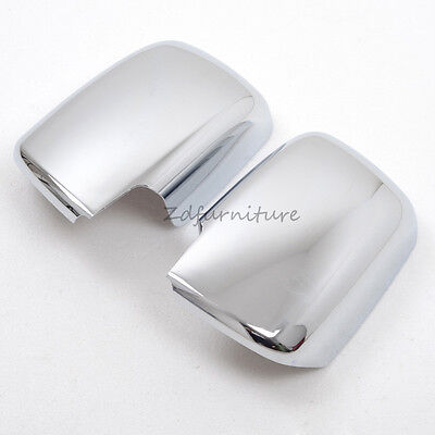 For Nissan Rogue 2008-2012 Chrome Car Side Rearview Mirror Cover Trim