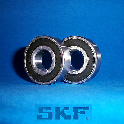 2 Kugellager 6201 2RS  / Markenware SKF / 12 x 32 x 10 mm