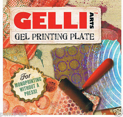 Gelli printing plate Gel printing plate Choose from5 sizes Print without a press