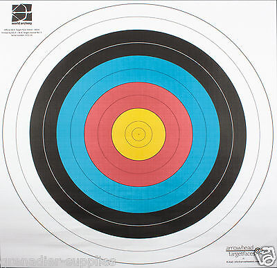 60Cm Pita Heavy Paper Competition Training Archery Target Faces