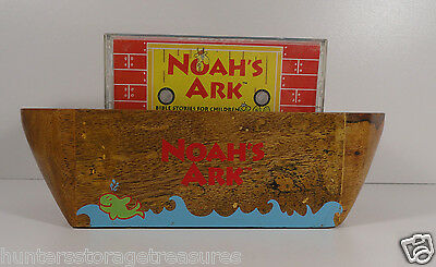 Great American Audio Handcrafted Noah's Ark Boat and Cassette Story