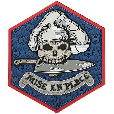 PVC Patch - MAXPEDITION - MISE EN PLACE - New for 2015 - FULL Color